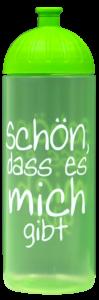 ISYbe Trinkflasche 0,7l Schön grün transparent