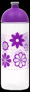 ISYbe Trinkflasche 0,7l Blumen transparent